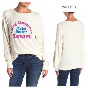 WILDFOX Dog Owners Make Better Lovers Sweatshirt